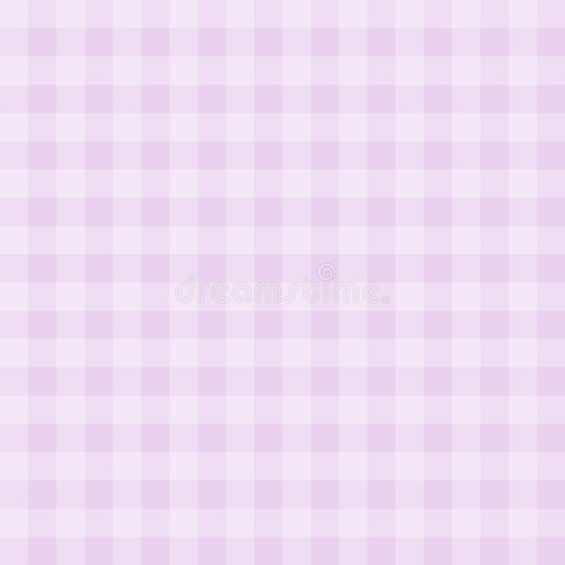 Nahtloser Ginghammusterhintergrund vektor abbildung