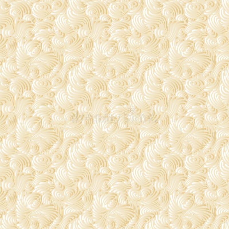 Nahtloser goldener Hintergrund lizenzfreie abbildung