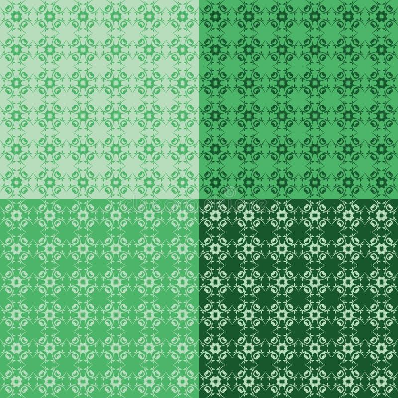 Download Nahtloser Grafischer Hintergrund Vektor Abbildung - Illustration von blatt, form: 26368335