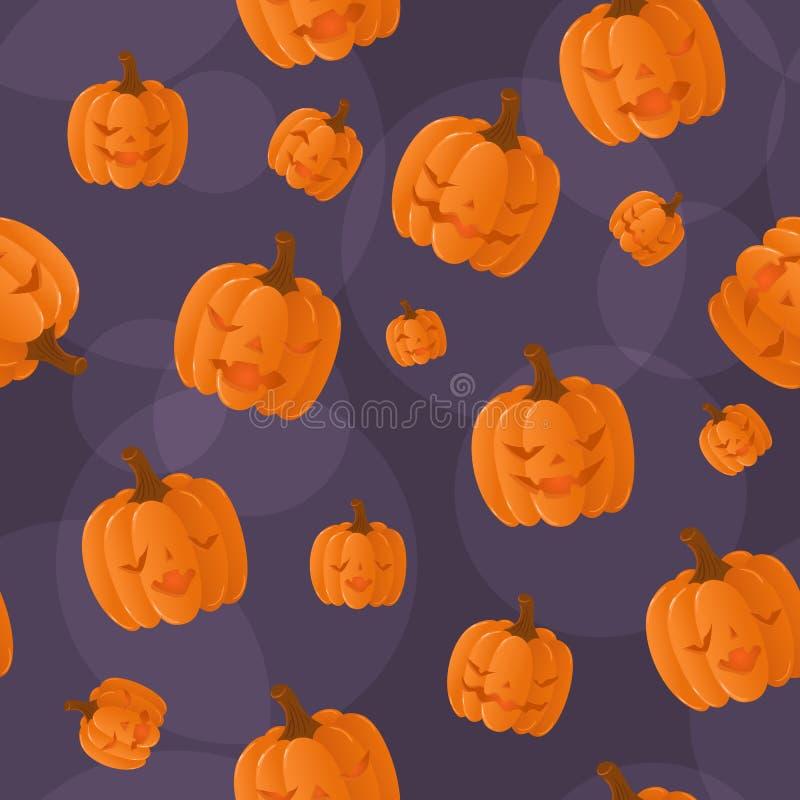 Nahtloser Halloween-Hintergrund stock abbildung