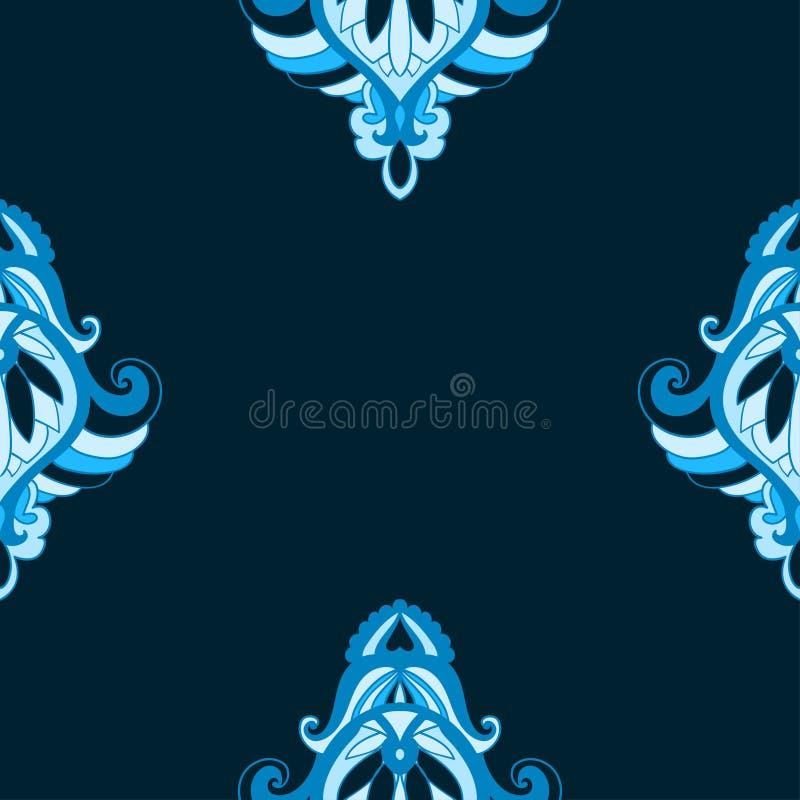 Nahtloser Hintergrund Dekorative dekorative Beschaffenheit der Zusammenfassung stock abbildung