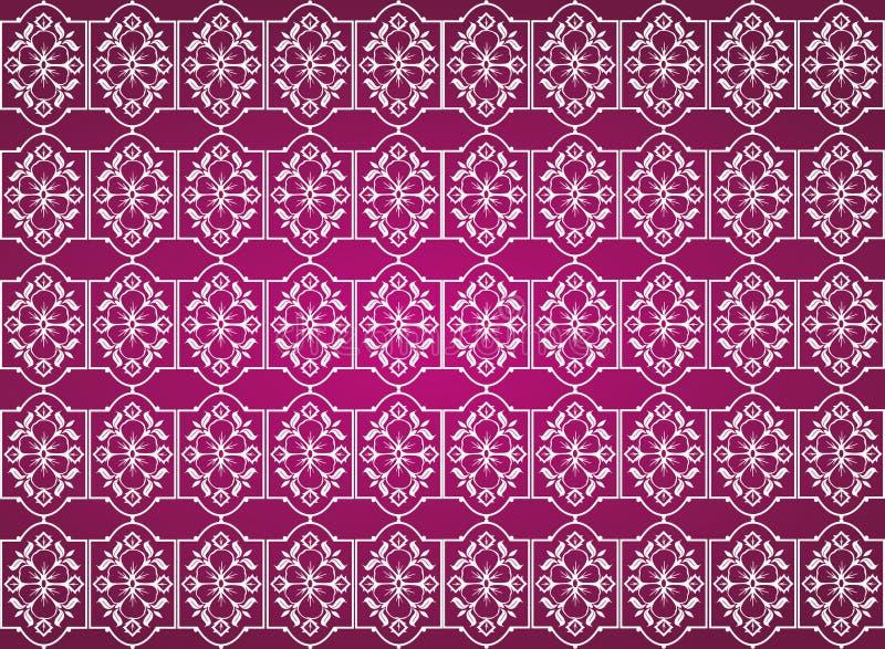 Nahtloser Hintergrund der Blume vektor abbildung