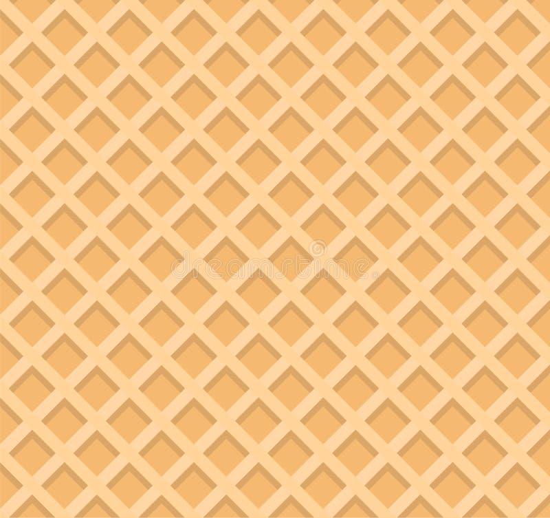 Nahtloser Hintergrund der Oblate Vektorillustration ENV lizenzfreie abbildung