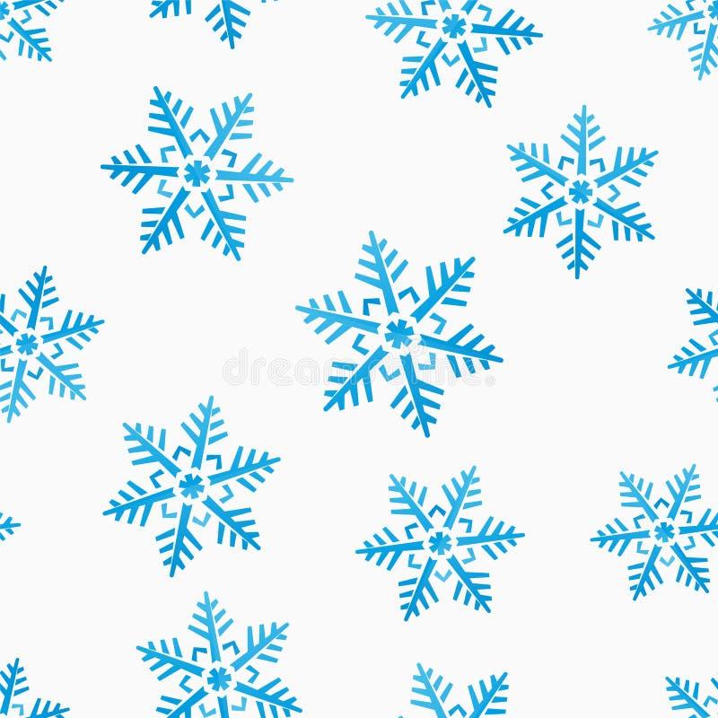 Download Nahtloser Hintergrund Des Abstrakten Winters Vektor Abbildung - Illustration von symbol, schnee: 47101456