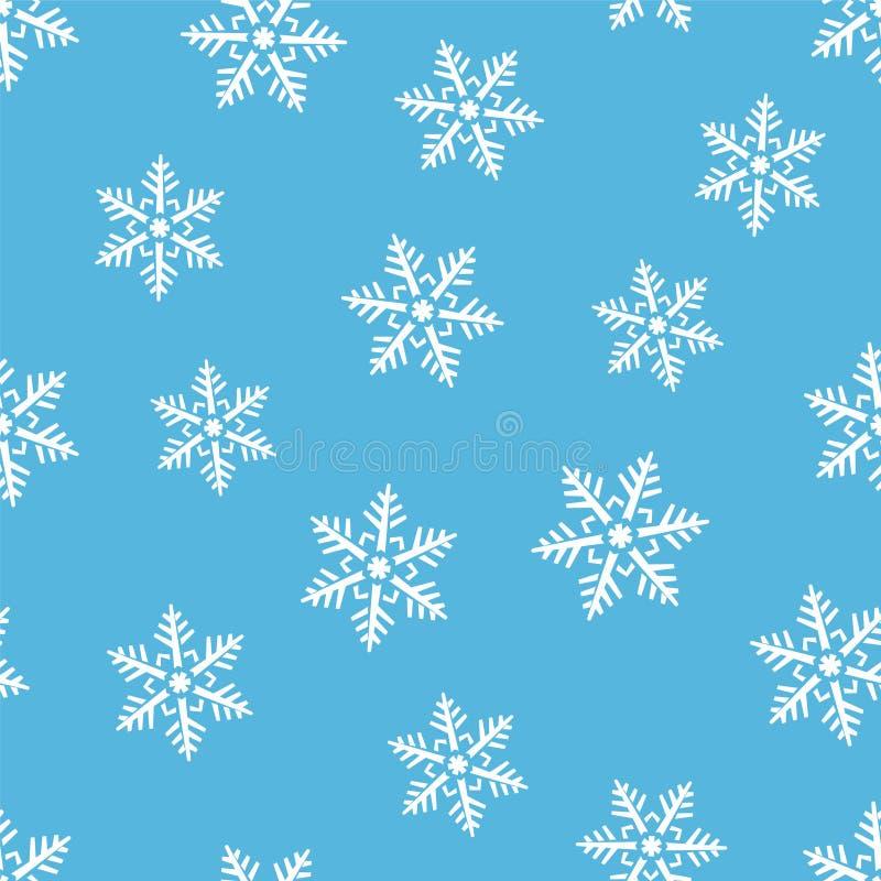 Download Nahtloser Hintergrund Des Abstrakten Winters Vektor Abbildung - Illustration von vektor, motiv: 47101476