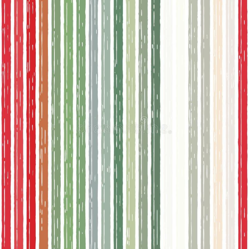 Nahtloser Hintergrund des Musterstreifens alt, vertikal stock abbildung