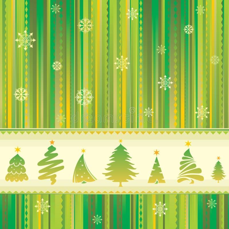 Nahtloser Hintergrund des neuen Jahres stock abbildung