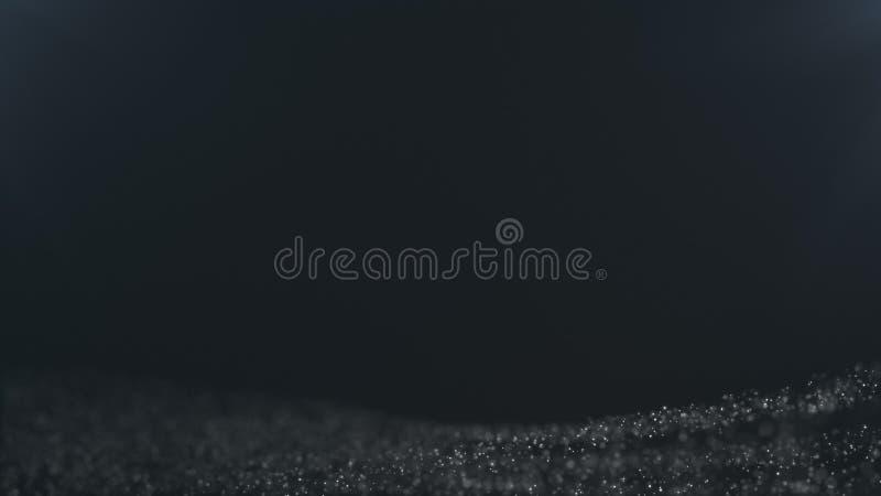 Nahtloser Hintergrund des Partikels, mit Platz für Ihr Logo oder Text stock video footage