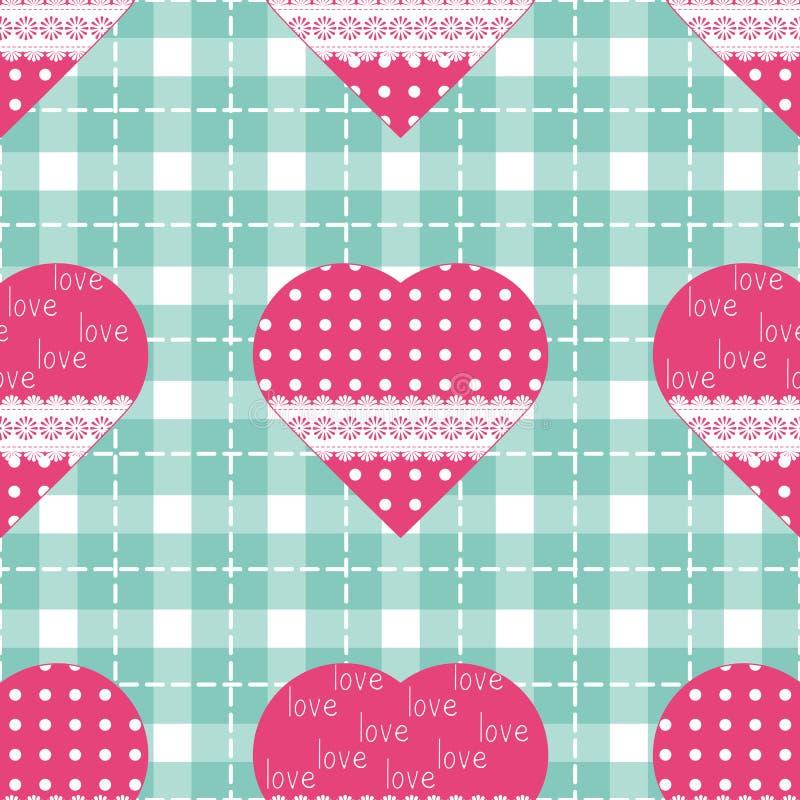 Nahtloser Hintergrund für Kissen, Kissen, Bandanna, Halstuch, Schalgewebedruck Beschaffenheit für Kleidung oder Bettzeug Verschie vektor abbildung