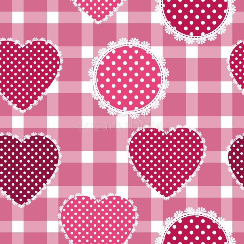 Nahtloser Hintergrund für Kissen, Kissen, Bandanna, Halstuch, Schalgewebedruck Beschaffenheit für Kleidung oder Bettzeug Verschie stock abbildung