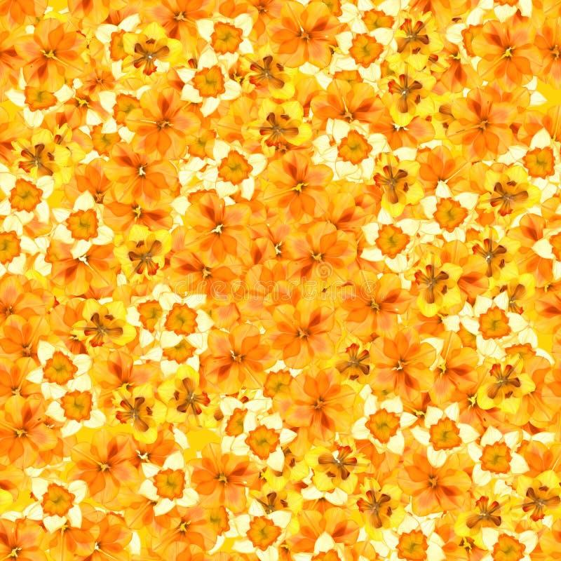 Nahtloser Hintergrund mit dem mehrfarbigen Blumenblumenblatt lizenzfreie stockfotos