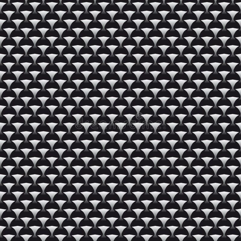 Nahtloser Hintergrund mit geometrischen Mustern lizenzfreie abbildung