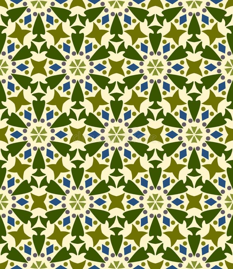 Nahtloser Hintergrund, Muster mit Blumen lizenzfreie abbildung