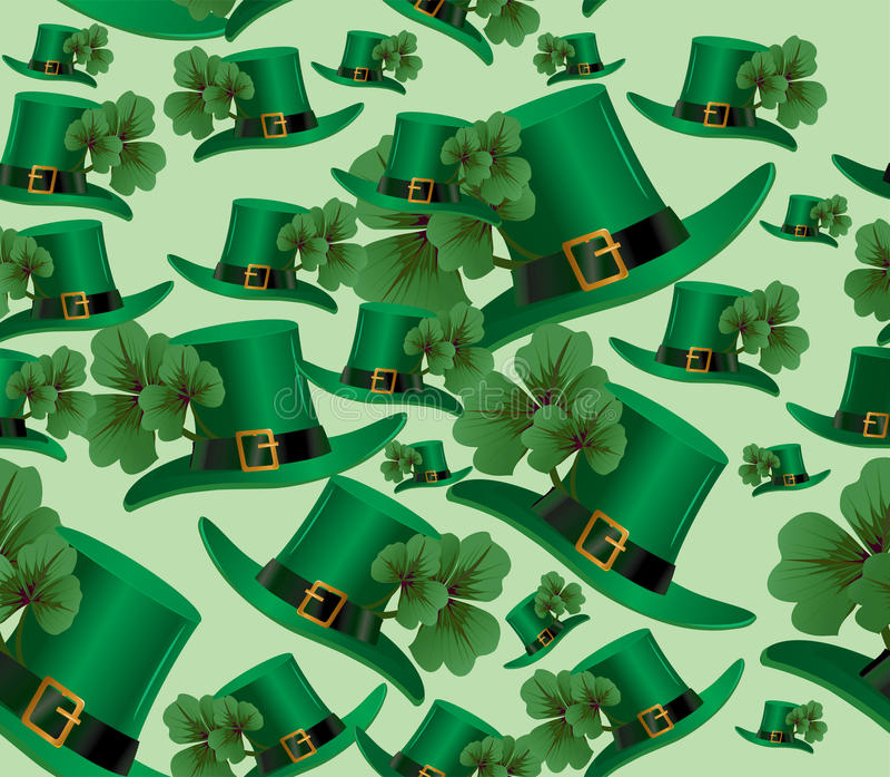 Hintergrund St. Patricks Tages lizenzfreie stockbilder