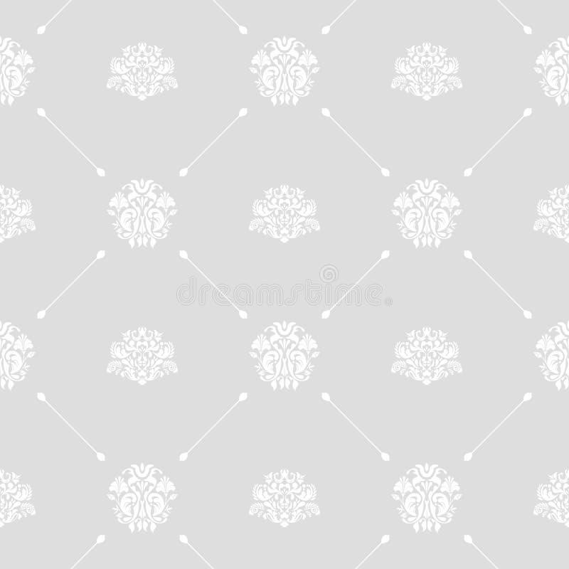 Nahtloser Hochzeitshintergrund stock abbildung