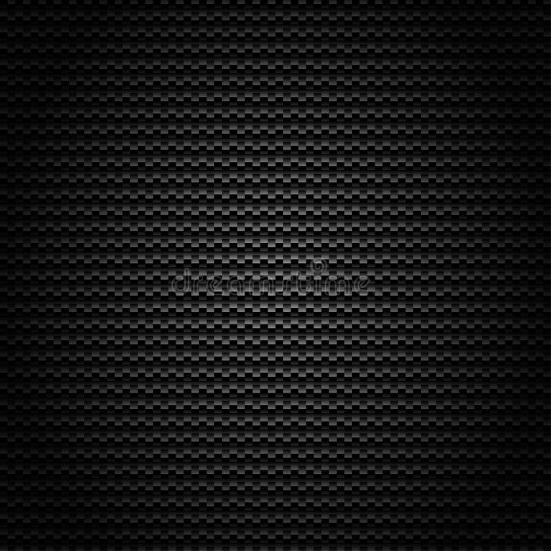 Nahtloser Kohlenstoff-Faser-vektorhintergrund vektor abbildung