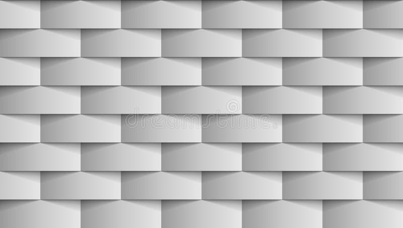 Nahtloser moderner Gray Texture Background stock abbildung