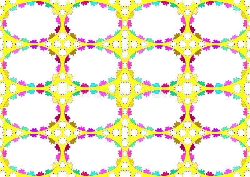 Nahtloser Ostereihintergrund vektor abbildung