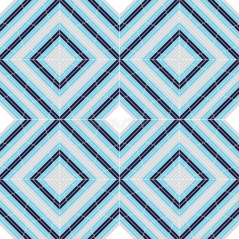 Nahtloser quadratischer keramischer Hintergrund lizenzfreie abbildung