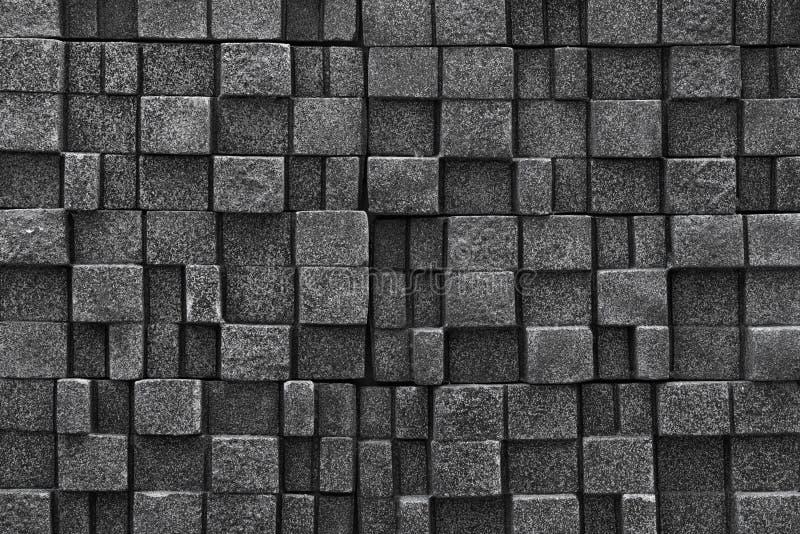 Nahtloser Steinwandhintergrund - masern Sie Muster für ununterbrochenes stockbild