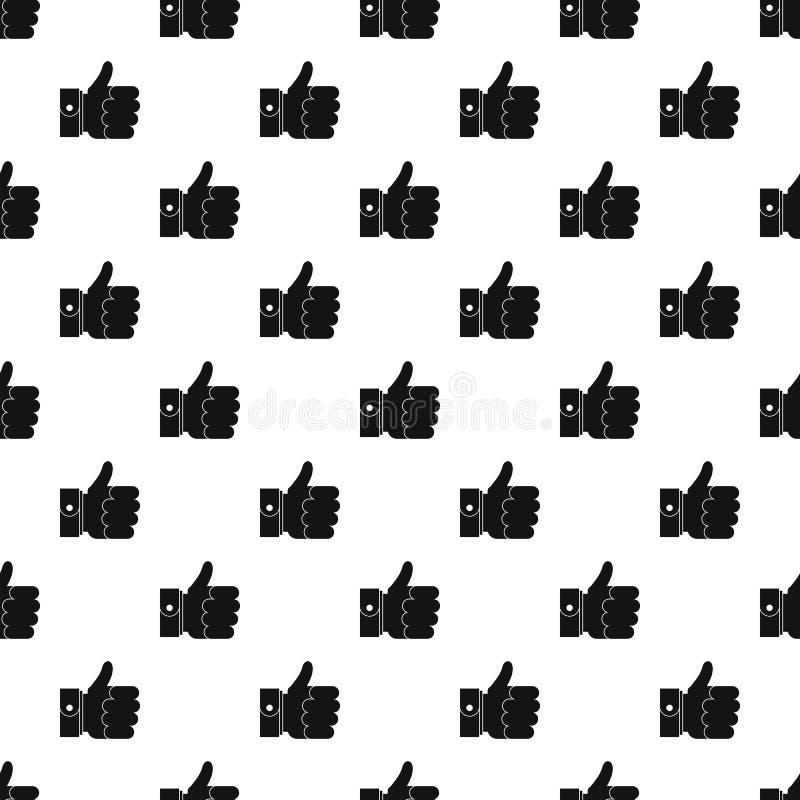 Nahtloser Vektor des Handausgezeichneten Musters vektor abbildung