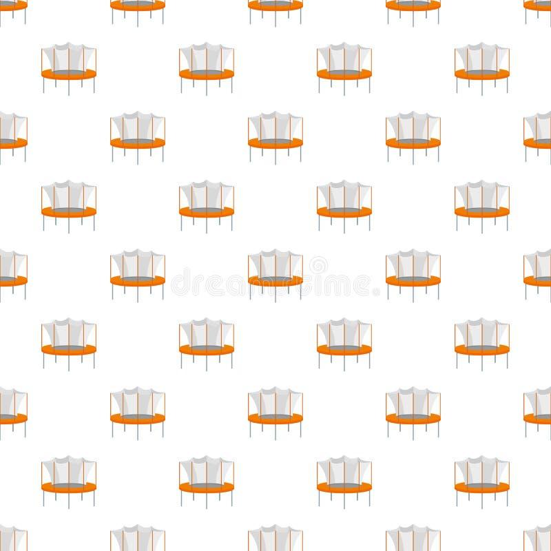 Nahtloser Vektor des Kindertrampoline-Musters vektor abbildung