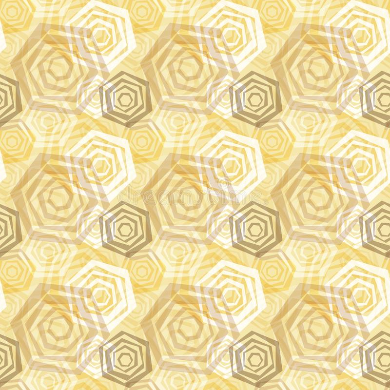 Nahtloser Vektor-polygonales Muster lizenzfreie stockbilder