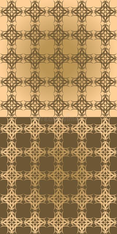 Download Nahtloser Weinlesehintergrund Vektor Abbildung - Illustration von eleganz, tapete: 26368480