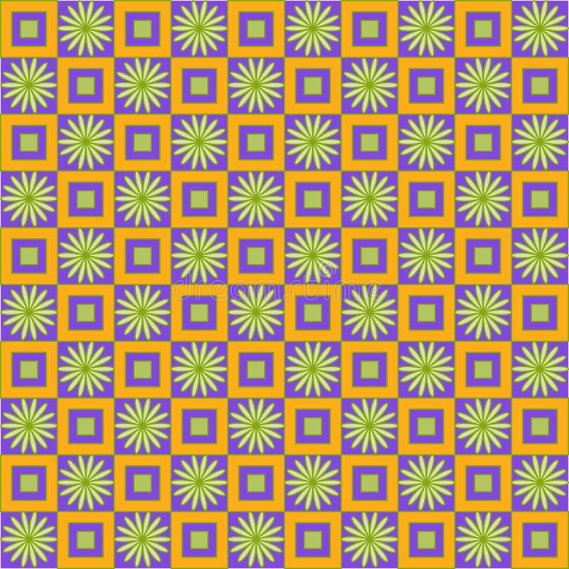 Nahtloses abstraktes Muster lizenzfreie abbildung