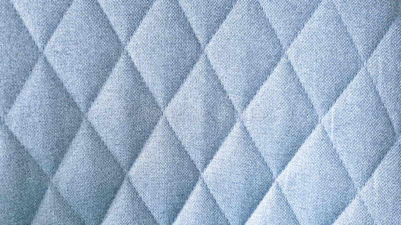 Nahtloses blaues Gewebetextilrautenmuster stockfotografie