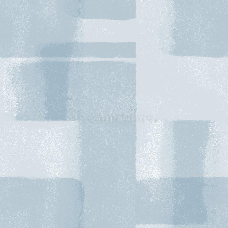 Nahtloses blaues Muster lizenzfreie abbildung