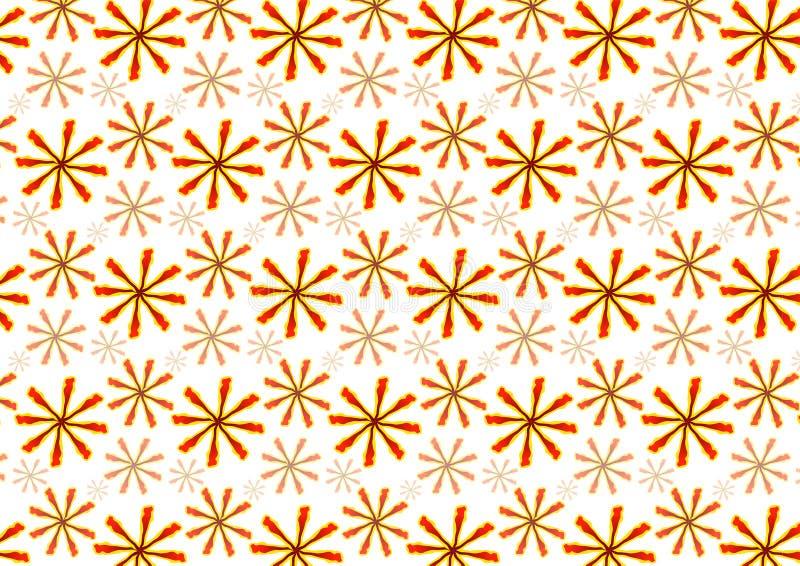 Nahtloses Blumenhintergrundmuster stockfotos