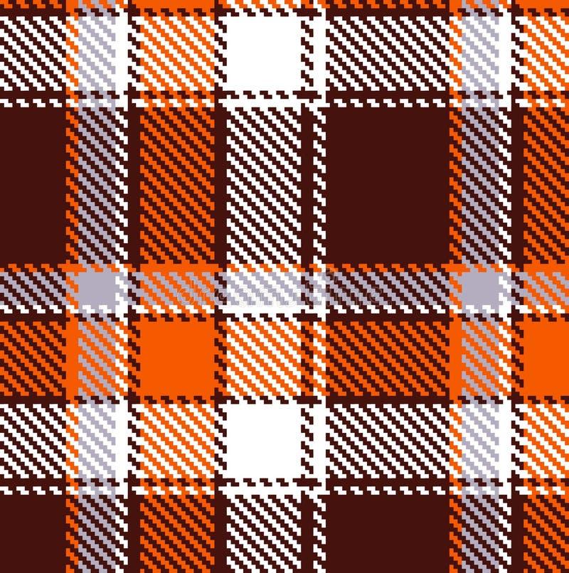 Nahtloses checkered Muster lizenzfreie abbildung