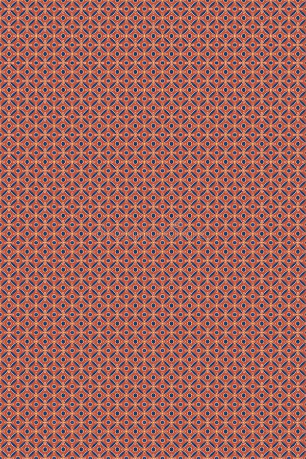 Nahtloses dekoratives Muster stock abbildung