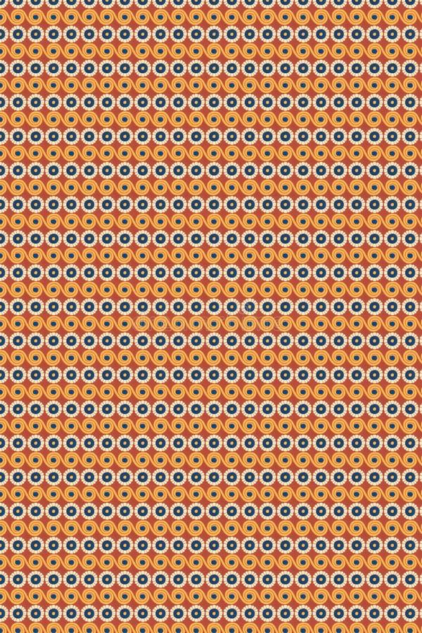 Nahtloses dekoratives Muster vektor abbildung