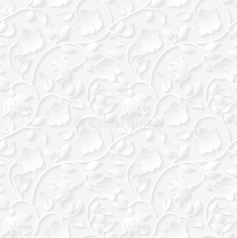 Nahtloses dekoratives Muster lizenzfreie abbildung
