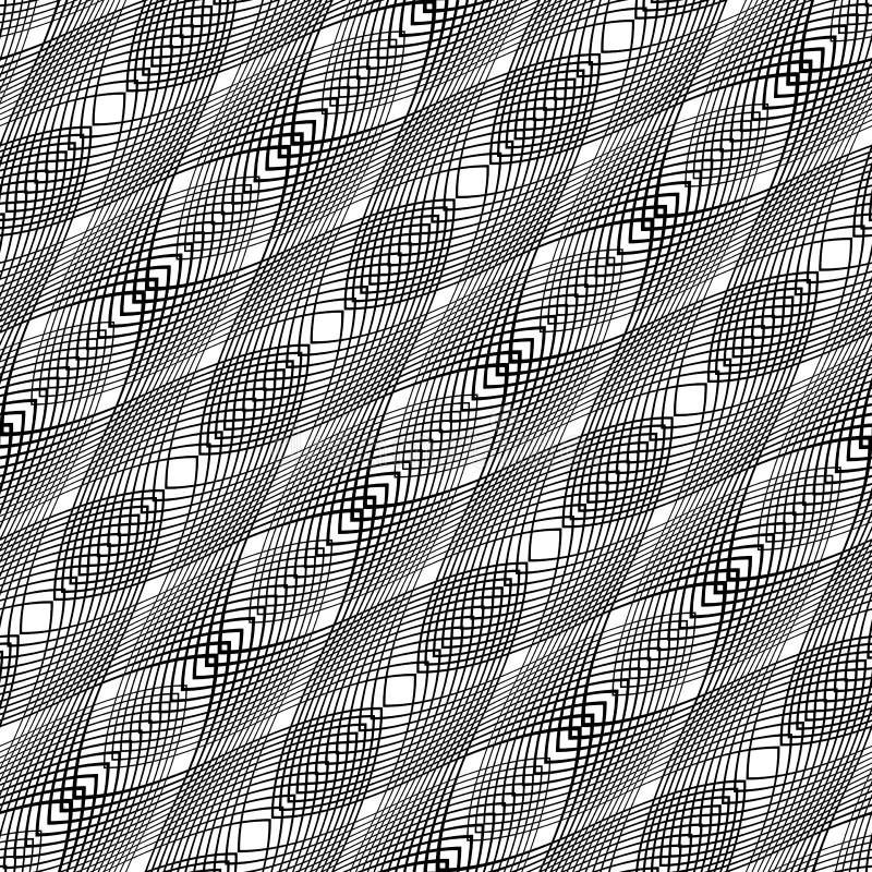 Download Nahtloses Einfarbiges Schachbrettmuster Des Designs Vektor Abbildung - Illustration von graphik, schwarzes: 106804687