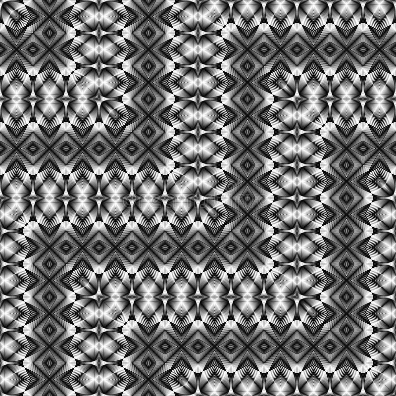 Download Nahtloses Einfarbiges Spitzen- Muster Des Designs Vektor Abbildung - Illustration von streifen, niemand: 106804596