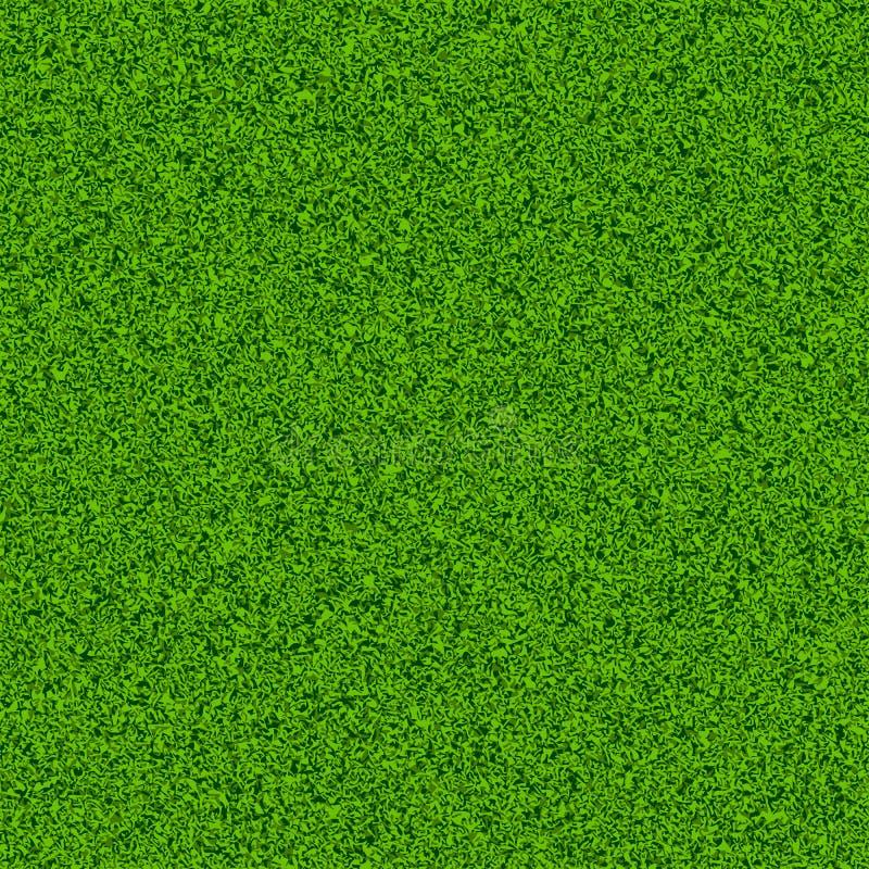 Nahtloses Feld des grünen Grases stock abbildung