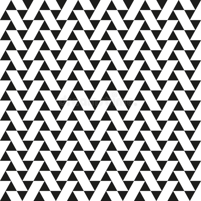 Nahtloses geometrisches abstraktes Dreieck und Parallelogramm kopieren Beschaffenheitshintergrund vektor abbildung