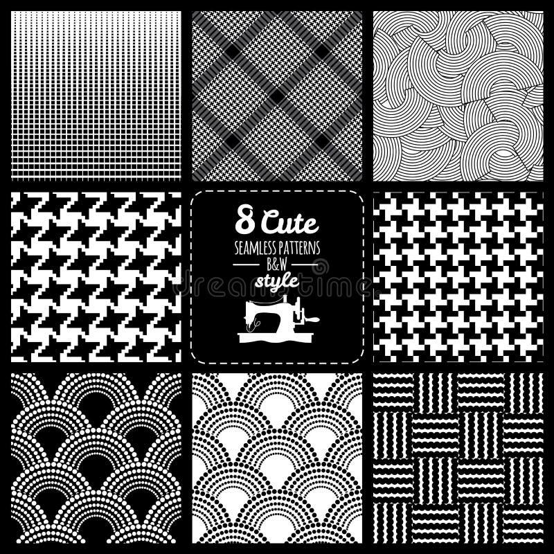 Nahtloses geometrisches Muster stock abbildung