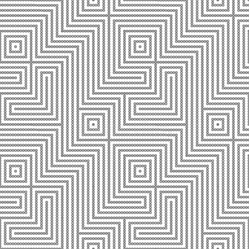 Nahtloses geometrisches Muster vektor abbildung