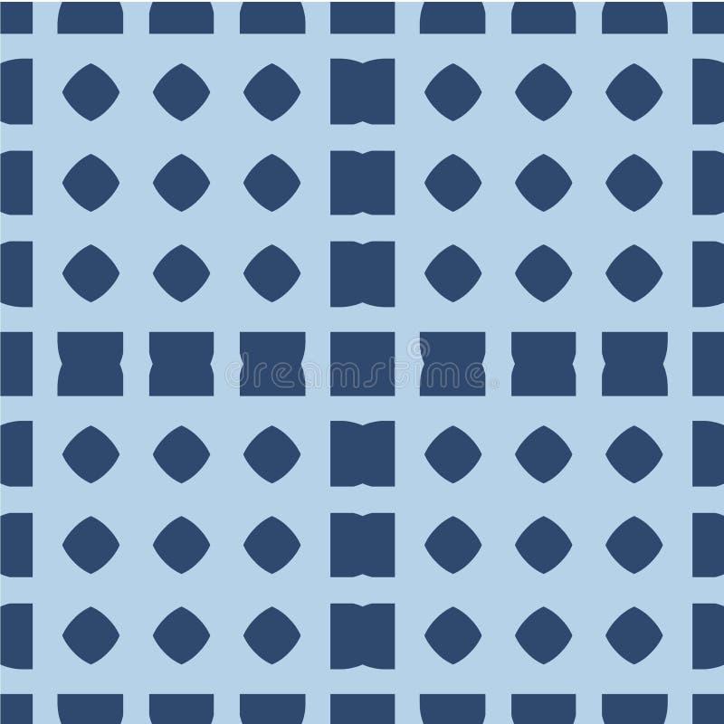 Nahtloses geometrisches Muster Das Element des Designdruckens auf Gewebe, Papier, wickelnd ein Verzierung in der ethnischen Art G lizenzfreie abbildung
