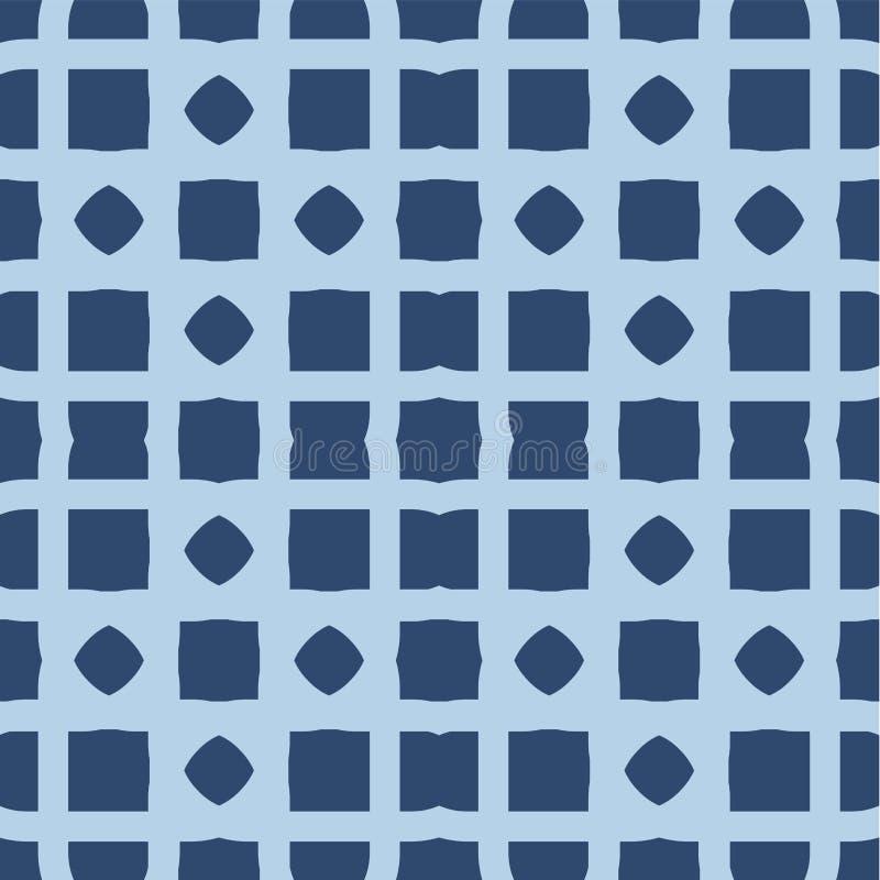 Nahtloses geometrisches Muster Das Element des Designdruckens auf Gewebe, Papier, wickelnd ein Verzierung in der ethnischen Art G vektor abbildung