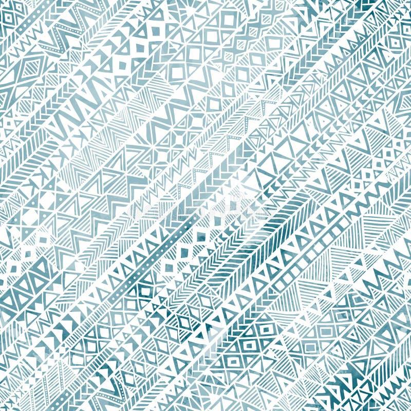 Nahtloses geometrisches Muster in der Schmutzart Das diagonale orienta lizenzfreie abbildung