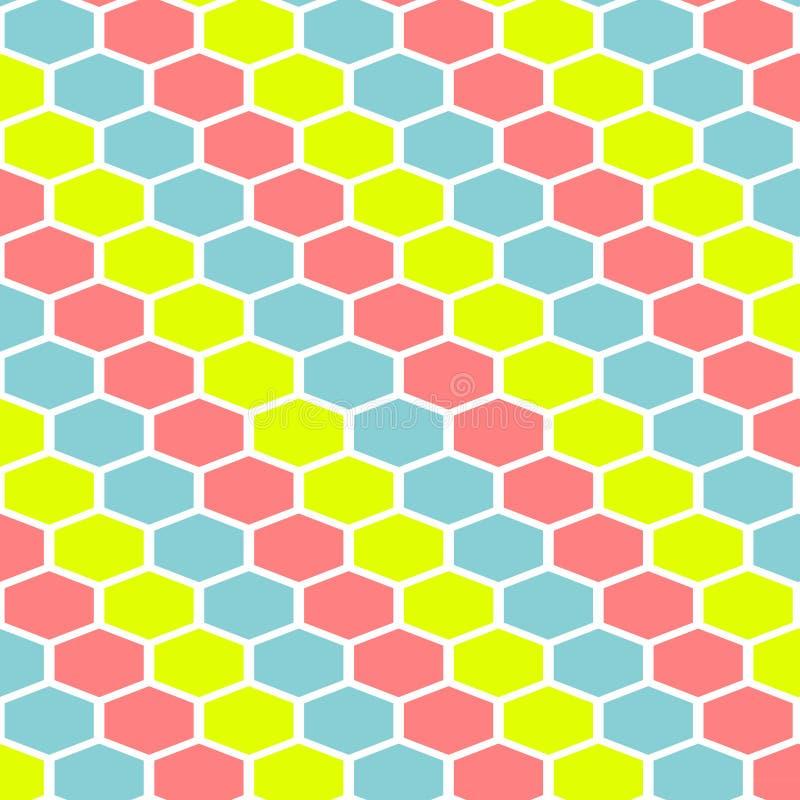Nahtloses geometrisches Muster von farbigen Linien kopieren Hintergrund vektor abbildung
