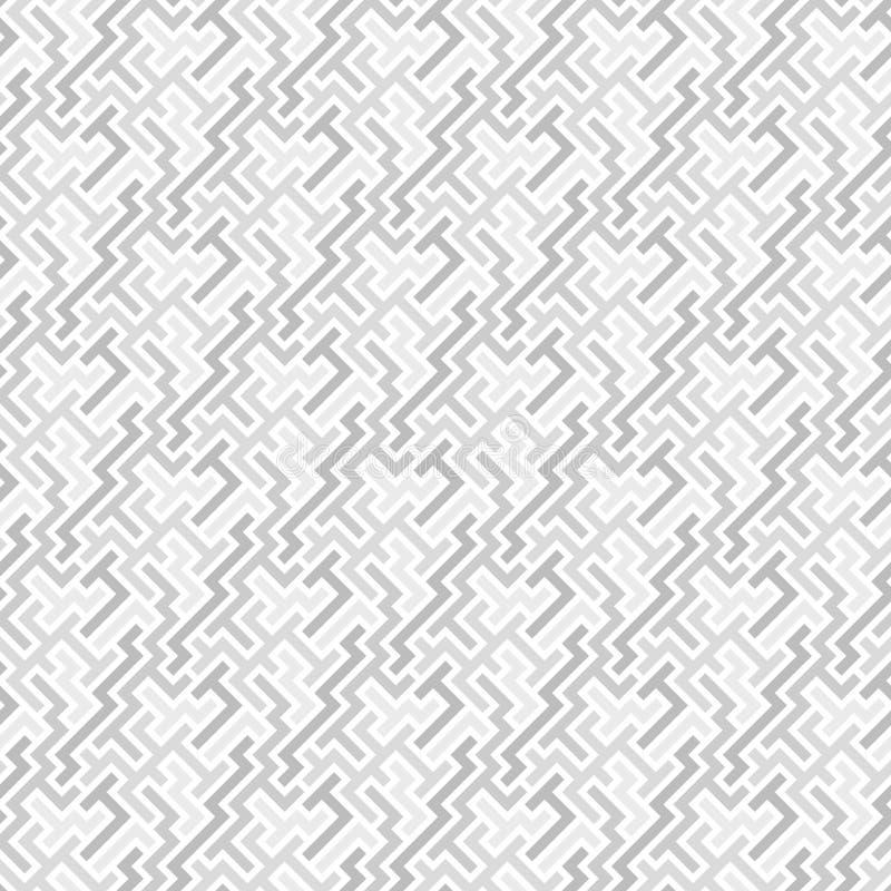 Nahtloses graues Fliesemuster stock abbildung