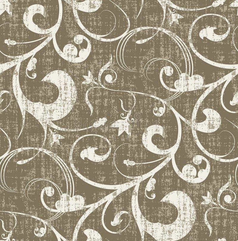 Nahtloses Grungy Muster vektor abbildung