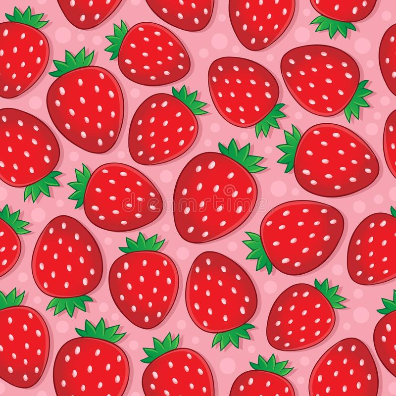 Nahtloses Hintergrundfruchtthema 3 lizenzfreie abbildung
