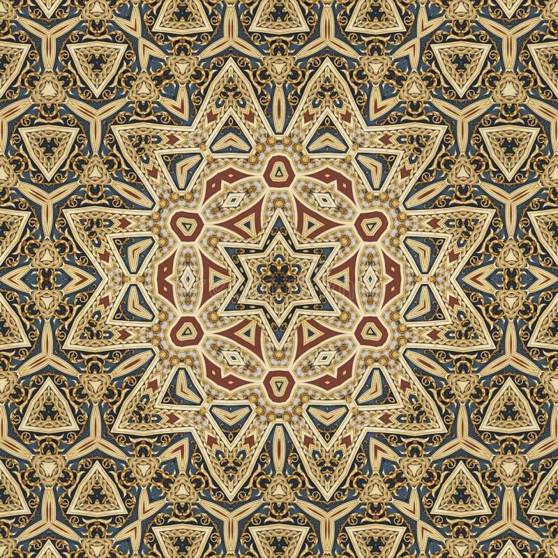 Nahtloses keltisches Musterdesign 003 vektor abbildung